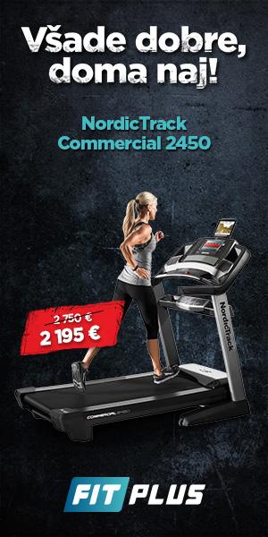 Bežecký pás NordicTrack 2450 2018