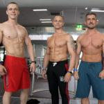 Erik Hajdyla a ďalší víťazi súťaze DO FORMY (zľava Marek Pakes a Jožko Krňa)