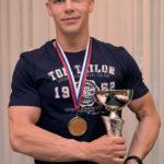 Hrdý víťaz Erik Hajdyla