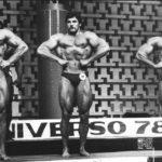 MS 1978, vlevo stříbrný Wilkosz, vpravo vítězný Mike Mentzer