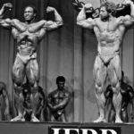 Wilkosz na Mr. Olympia 1984, kdy obsadil 3. místo. Vlevo vítěz Lee Haney.
