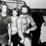 S Arnoldem, připravujícím se na roli Conana