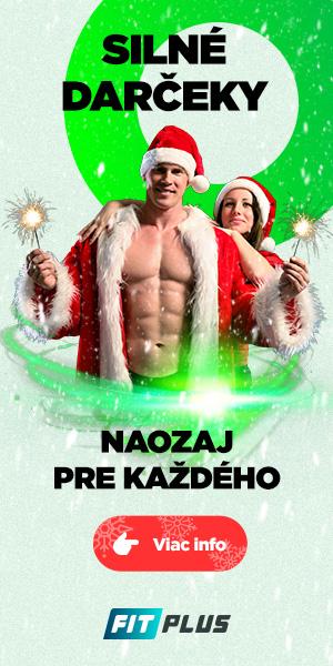 Vianocne fitness darceky FIT PLUS