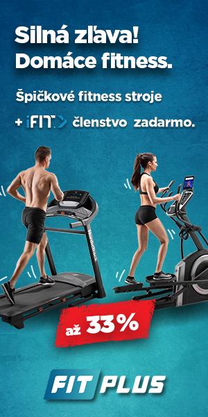 Novoročný výpredaj fitness strojov, domáce fitness zariadenia, bezecky pas, elipticky trenazer, stacionarny bicykel