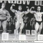 SANDOW 1980 (zleva): 2. Kainrath, 1. P. Hensel, 3. M. Rolinec