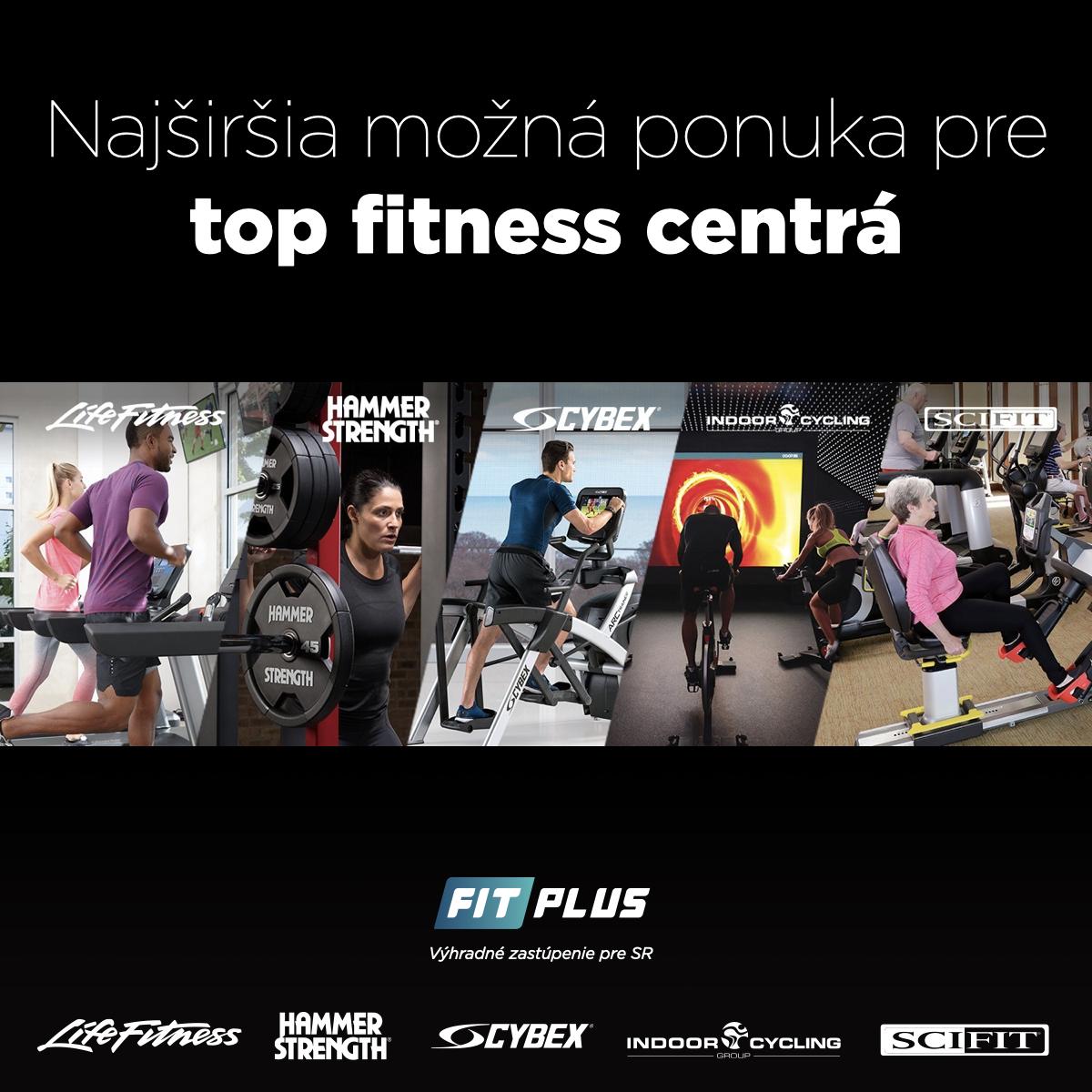 LifeFitness - zariadovanie fitness centier