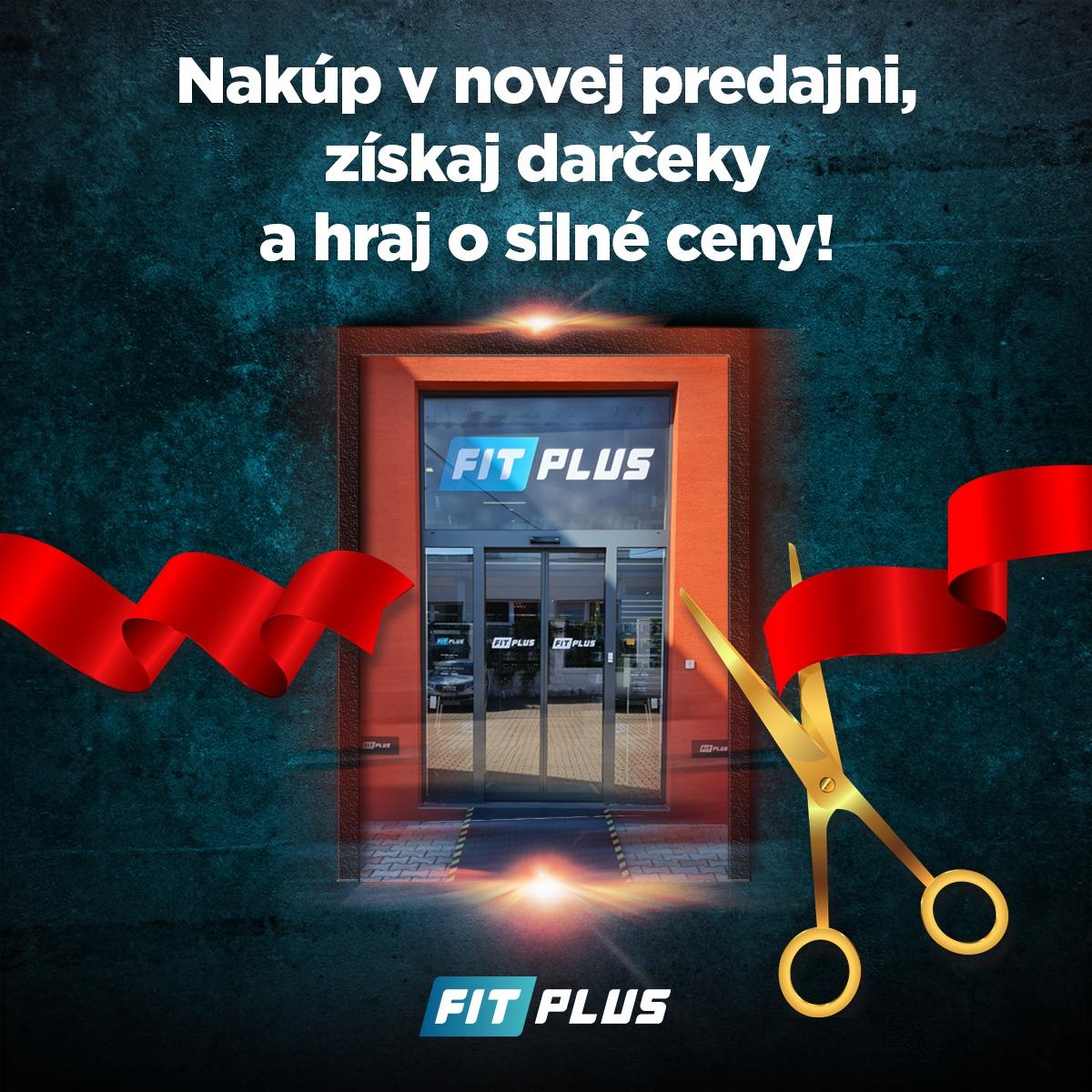 Nova samoobsluzna predajna FIT PLUS v Bratislave