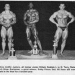 Buchanan (uprostřed) jako 17letý.
