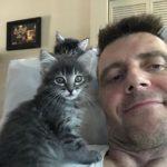 Aktuální foto J-PF s domácím mazlíčkem