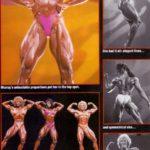 Ms. Olympia 1991, na snímcích z porovnávání (zleva): 3. Creavalle, 1. Murray, 2. Francis